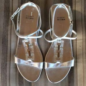 Stuart Weitzman sandals.